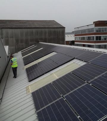 Southampton Docks, Hampshire, Commercial Solar