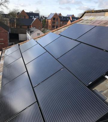 Southampton business solar