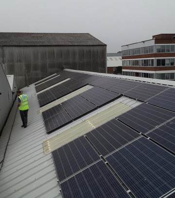 Southampton Docks, Hampshire, Commercial Solar