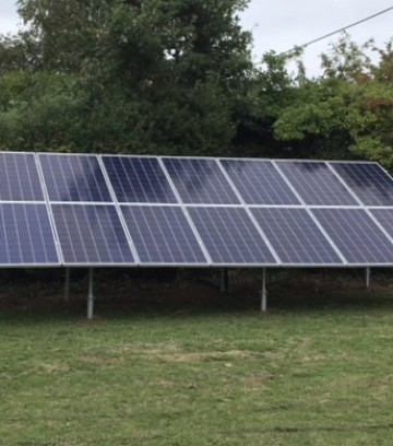 Domestic Ground Based Solar